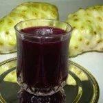 suco de noni com uva