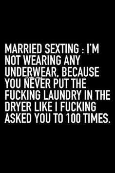 Married sexting lol