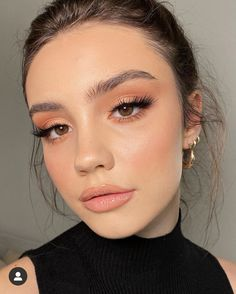 Nude Makeup, Glam Makeup, Skin Makeup, Makeup Inspo, Bridal Makeup, Wedding Makeup, Makeup Inspiration, Makeup Pics, Make Up Looks