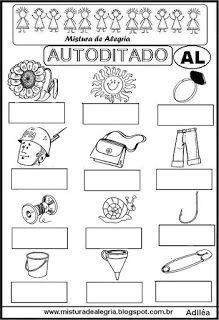 Autoditado para alfabetização com al