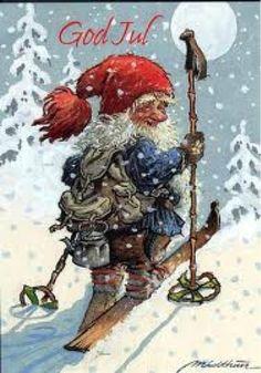 gamle norske julekort - Google-søk