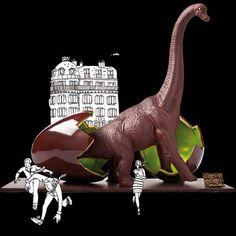 Chocolate Jurassic Park