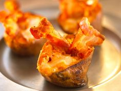 Stuffed Sweet Potatoes with Bacon Recipe by Annabel Karmel Bacon Recipes, Baby Food Recipes, Cooking Recipes, Savoury Recipes, What's Cooking, Easy Recipes, Dinner Recipes, Easy Family Meals, Kids Meals