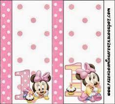 Resultado de imagen para minnie mouse baby primer año