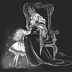 hmmmm...Cinderella and her step-mother? An unloved daughter facing her dearly loved brother?