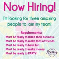 Find me on facebook Candra Hayden or Candra's SCENTSATIONAL Scentsy or simply join my team on my website https://candra.scentsy.us  Let's be scentsy sisters!!!!