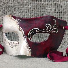 Beautiful columbina venetian mask, CA MACANA