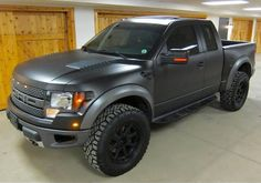 This is how I want my Raptor...Matte Carbon Grey, with these wheels!!! Dope!!!