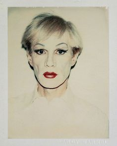 Andy Warhol, Self-Portrait in Drag, 1981 (short hair)