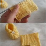Easy To Make Baby Booties With Pearls - Crochet - Tutorials Irish Crochet, Easy Crochet, Knit Crochet, Crochet Hats, Crochet Baby Booties, Silk Thread, Needlework, Booty, Knitting