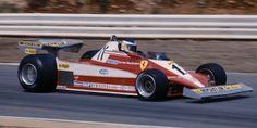 Carlos Alberto Reutemann (ARG) (Scuderia Ferrari), Ferrari 312T3 - Ferrari Flat-12 (finished 1st)  1978 British Grand Prix, Brands Hatch