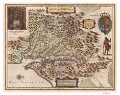 1630 Hondius edition of Captain John Smith's Map of the Virginia Colony and the Chesapeake Bay waterways first issued in 1612 title Nova Virginiae Tabula Old Maps, Antique Maps, Vintage Wall Art, Vintage World Maps, New World Map, Historical Maps, Fine Art Paper, Canvas Frame, Libros