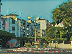 Tangier Morocco, Painting, Painting Art, Paintings, Painted Canvas, Drawings