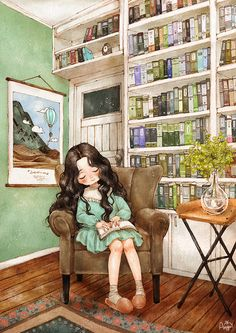 """Search results for """"illustrations books reading"""" on Yandex. Cartoon Kunst, Cartoon Art, Forest Girl, Polychromos, Cute Characters, Anime Art Girl, Cute Illustration, Cute Drawings, Cute Art"""