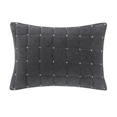 Madison Park Quilted Stitch Velvet Oblong Pillow U0026 Reviews | Wayfair $25 · Designer  LivingPillow ...