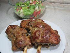 Lamb Recipes, Cooking Recipes, Romanian Food, Tandoori Chicken, Pork, Food And Drink, Ethnic Recipes, Youtube, Romanian Recipes
