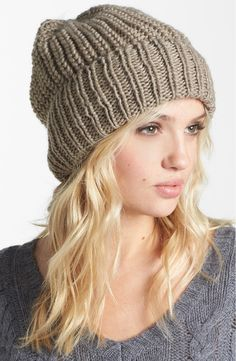 Free shipping and returns on Tarnish Chunky Knit Beanie at Nordstrom.com. A soft, chunky knit composes a slouchy beanie.