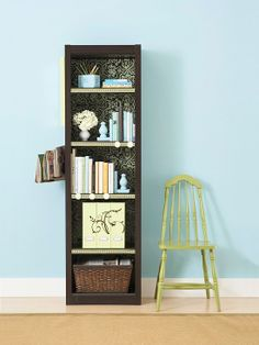 Old Bookshelf Makeover