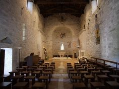 Interno Abbazia di San Benedetto in Valledacqua