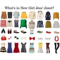 New Girl fashion... Love very bit!