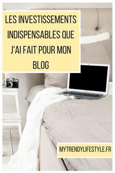 #blogging #blog #outils Découvrez les investissements qui ont permis de rendre mon blog plus professionnel.