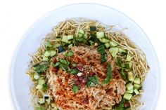 Super Food Pad Thai [Vegan]   One Green Planet SWANK NOTE:  Use olive oil instead of coconut oil.