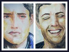 İnsan Olmak / Being Humen ( Model : Jensen Ackles )  Artist : M.Meltem Keleş