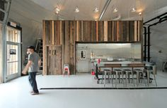 brewery in a barley field :: Bang Brewing / Alchemy Architects Commercial Architecture, Interior Architecture, Interior Design, Industrial Architecture, Brewery Design, Cocinas Kitchen, Brew Pub, Tap Room, Break Room