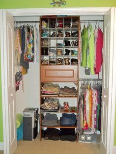 sketch of small bedroom closet organization ideas