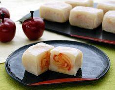 りんごのきんつば : Apple Kintsuba #Recipe #Japanese