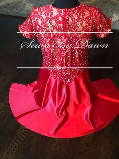 Custom dance costume