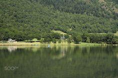 The green view - Lac de Genós, Pirinéus, França