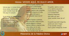 MISIONEROS DE LA PALABRA DIVINA: HIMNO LAUDES - VEISME AQUÍ, MI DULCE AMOR