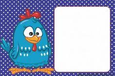 convite galinha pintadinha para imprimir