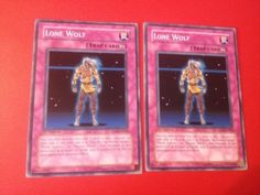 Yu-Gi-Oh! 2x Lone Wolf - TLM-EN060 - Common - 1st Edition - Moderate & Heavy -  in Toys & Hobbies, Trading Card Games, Yu-Gi-Oh!, Individual Cards | eBay