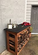 You want to build a outdoor firewood rack? Here is a some firewood storage and creative firewood rack ideas for outdoors. Lots of great building tutorials and DIY-friendly inspirations! Wood Storage Rack, Lumber Storage, Pallet Storage, Built In Storage, Diy Storage, Storage Ideas, Kitchen Storage, Storage Solutions, Storage Baskets