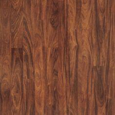 """Zoomed: Pergo 8-1/4""""W x 48-1/4""""L Vera Mahogany Laminate Flooring"""