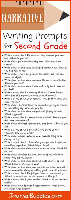 Second Grade Writing Prompts, Narrative Writing Prompts, Personal Narrative Writing, Writing Prompts For Kids, Paragraph Writing, Writing Lessons, Kids Writing, Teaching Writing, Writing Skills