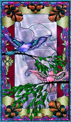 Stained glass artwork, so pretty to see the artistry behind this… Tiffany Stained Glass, Stained Glass Birds, Tiffany Glass, Stained Glass Designs, Stained Glass Projects, Stained Glass Patterns, Stained Glass Windows, Leaded Glass, Mosaic Art