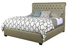 Kincaid Furniture Belmar Tufted Bed