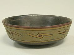 Incised Bowl Date: 7th–5th century BCE Geography: Peru, Ica Valley Culture: Paracas Medium: Ceramic, post-fired resin paint