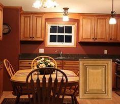 RTA Charleston Toffee Kitchen Cabinets for your #homedecor #kitchencabinets #kitchendesign #kitchenideas #kitchendecor #cabinets #cabinetsdesign #cabinetsideas