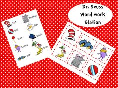 Classroom Freebies: Dr. Seuss Word Work Freebie