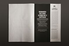 The Jazz 09 Journal on Editorial Design Served