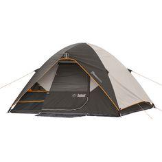 Dome Tent Weather Shield Sleeps 4 Water Repellent Fabric Rainfly Waterproof Gray #TentsHome