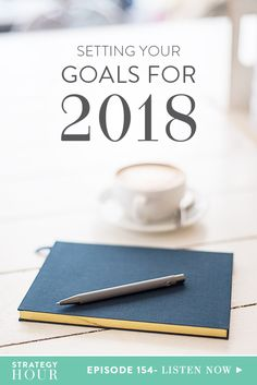 2018 is right around the corner and if you're feeling flustered about all the things you want to do and achieve, this episode is here to help. Today, we are talking about goal setting. We look at the importance of reflection in being able to move forward and why you need to analyze what worked and what didn't for 2017 to help pave the way to a more successful 2018. | The Strategy Hour | Think Creative Collective