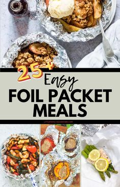 Camping is a fun family adventure. We have foil packet recipes and meals that require no special cooking equipment. Find breakfast to ideas for dinners. Camping Foil Meals, Camping Meal Planning, Tin Foil Dinners, Camping Menu, Camping Dinner Ideas, Foil Packet Meals, Foil Packets, Grilling Recipes, Camping Recipes