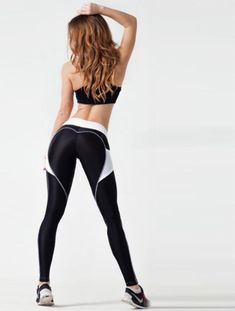 The Women Sexy Hip Leggings is made of polyester and spandex. It is breathable, quick dry and slim. Mädchen In Leggings, Girls Leggings, Leggings Fashion, Hot Outfits, Girl Outfits, Classy Outfits, Little Girl Leggings, Female Pose Reference, Sexy Hips