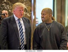 United States President-elect Donald J. Trump and Musician Kanye West pose for photographers in the lobby of Trump Tower. (Stock Photo) Contributor: MediaPunch Inc / Alamy Live News  www.alamy.com http://www.alamy.com/stock-photo-manhattan-new-york-usa-13th-dec-2016-united-states-president-elect-128928743.html