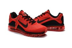 promo code 4d9f2 b5ec3 Nike Air Max 2017.5 Men Red Black KPU Nike Air Max Trainers, Running  Trainers,